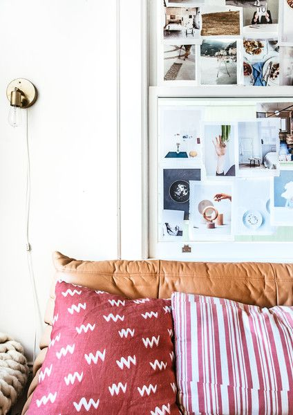 Scrapbook Skills - A French Blogger's Effortless and Eclectic Home - Photos