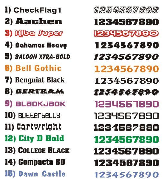 Race Car Number Fonts | A. Pencil Magic | Number fonts ...