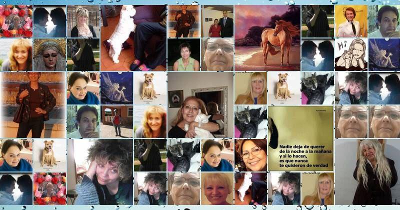 Mosaico con 50 amigos de Facebook! Crea el Tuyo!