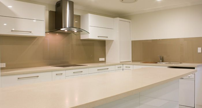 Glass Splashback Can Be Made In Most Paint Colours Can