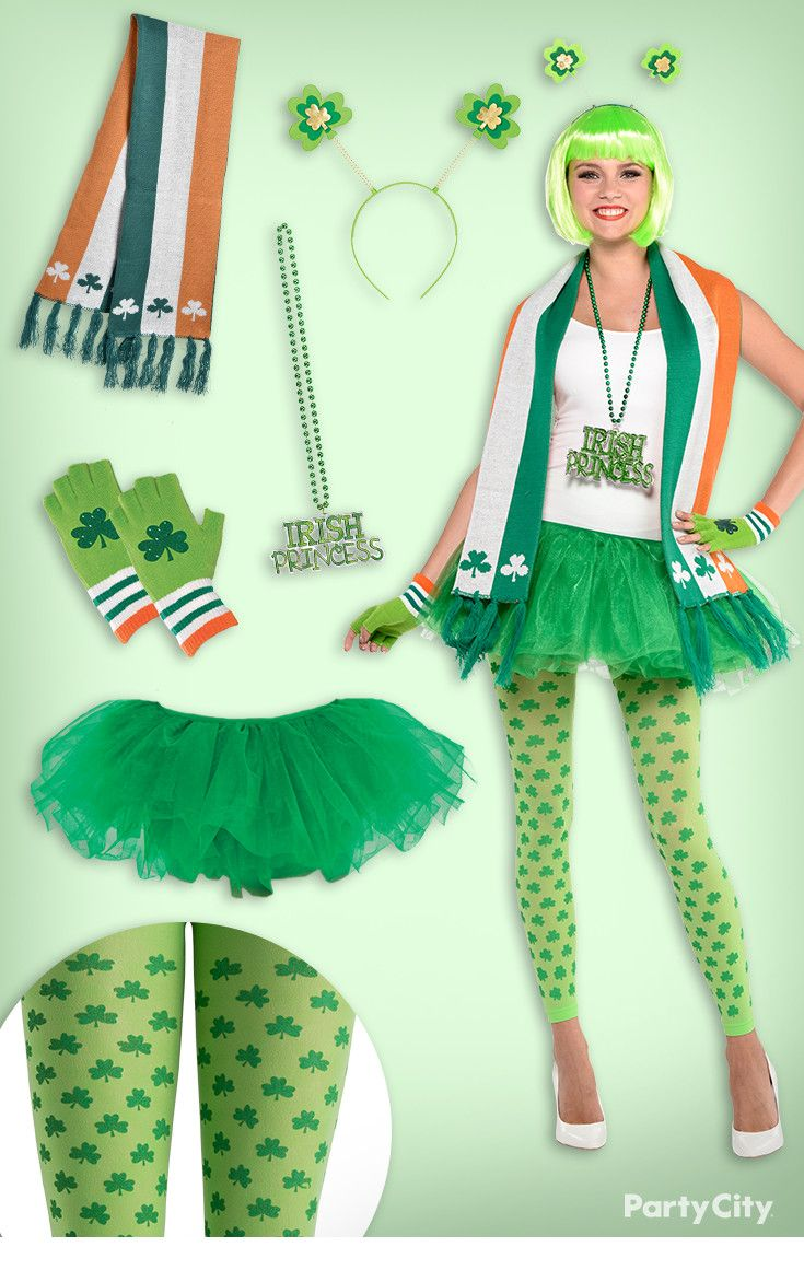155f3ae27df1 Crazy about St. Patrick s Day  Show some spirit with this awesome outfit!  Deck