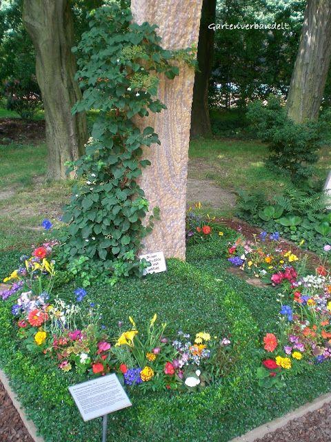 gartenverbandelt grabbepflanzung f r den sommer grabgestaltung pinterest grave memorials. Black Bedroom Furniture Sets. Home Design Ideas