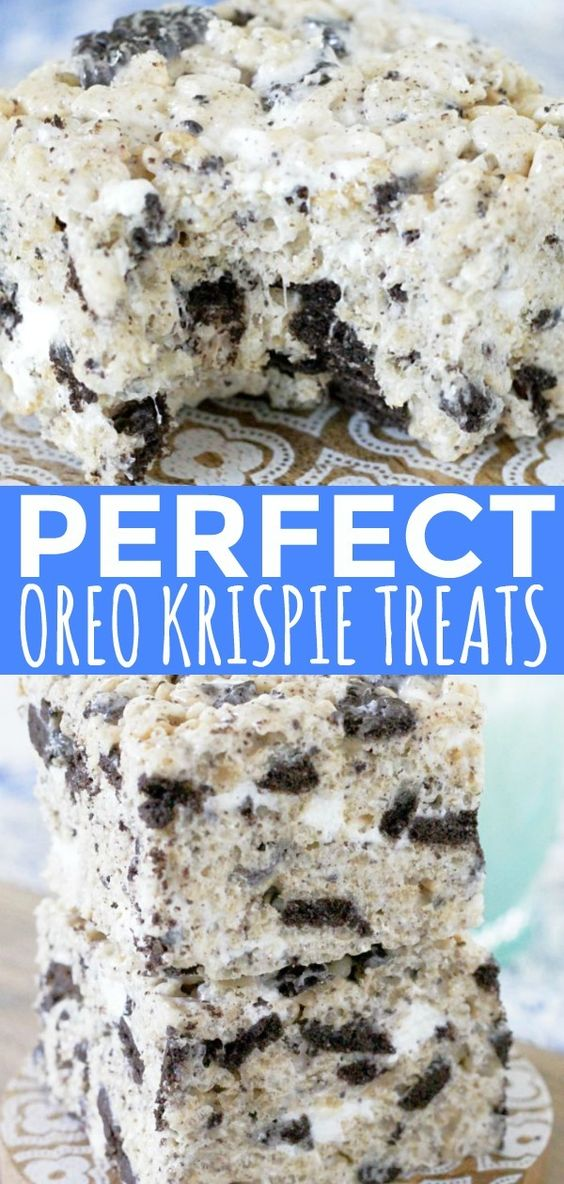 Oreo Krispies - Foodtastic Mom