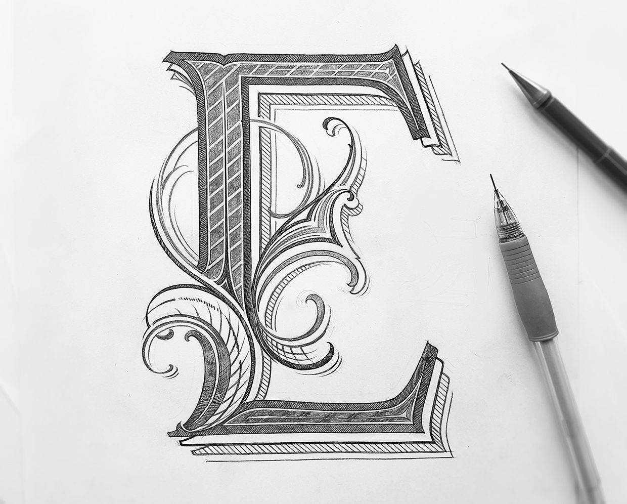21++ Letter design ideas drawing inspirations