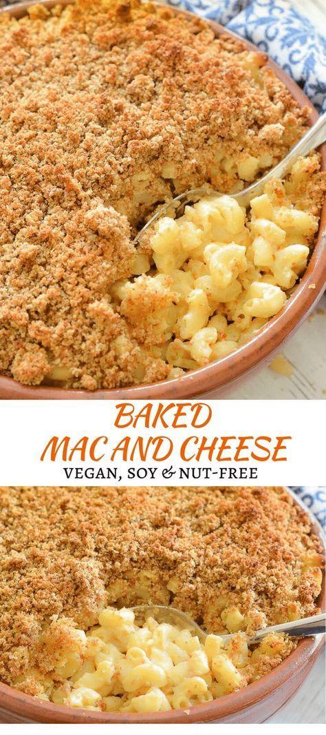 Vegan Mac And Cheese Recipe Vegan Dinner Recipes Vegan Dishes Vegan Recipes