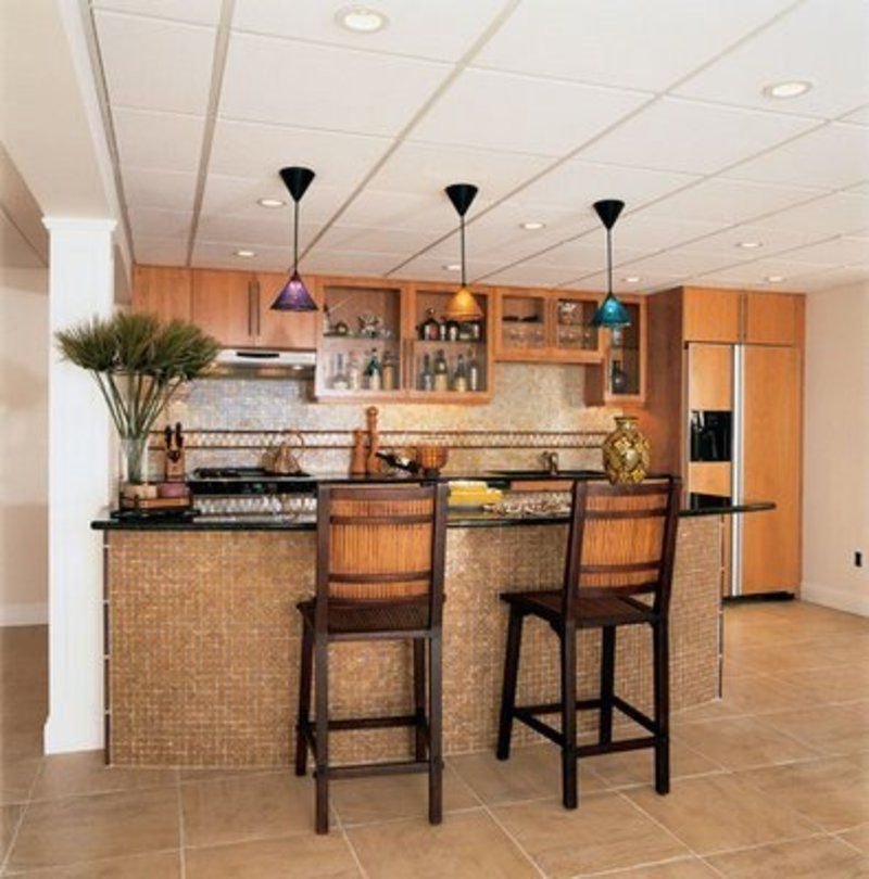 Ideas for kitchen bars kitchen bar design kitchen bar - Basement kitchen and bar ideas ...