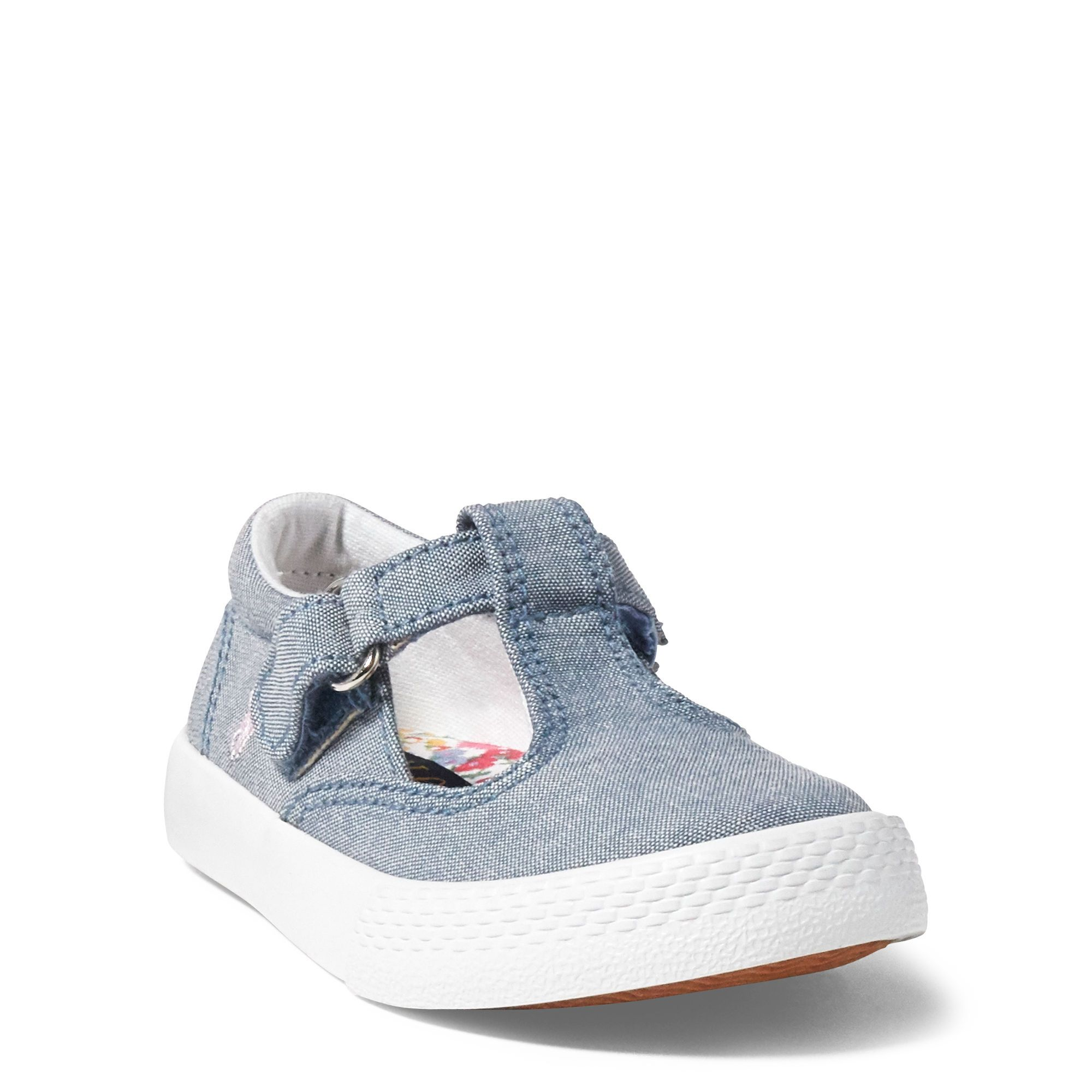 Tabby Chambray T-Strap Sneaker