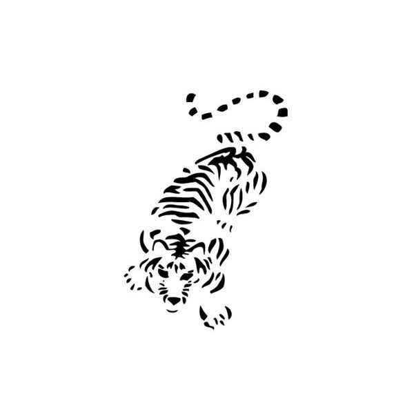 Large Printable Stencils For Walls Tiger Stencils Http Www Stencilsdesign Com Fauna 85 Fauna 14 Tiger Tiger Tattoo Small Japanese Embroidery Tiger Tattoo