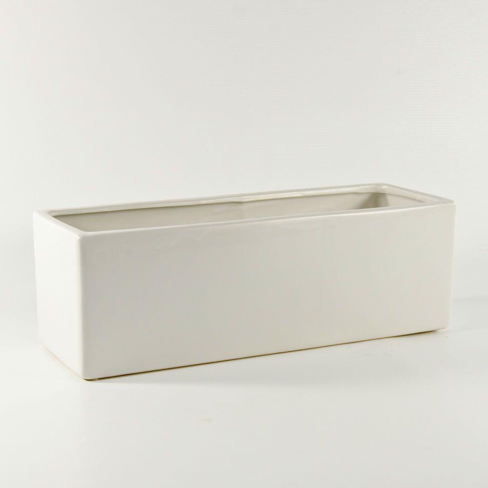 13 Matte Ceramic Rectangular Block Rectangular Ceramic Window Box