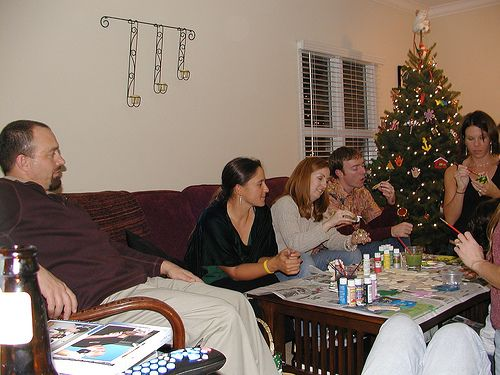 wikiHow to Host an Ornament Party -- via wikiHow.com