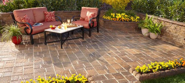 Loweu0027s Patio Stones Designs | ... Patio Patterns And More, You Can Design  The Perfect Patio For Your | Ideas For The House | Pinterest | Walkways, ...