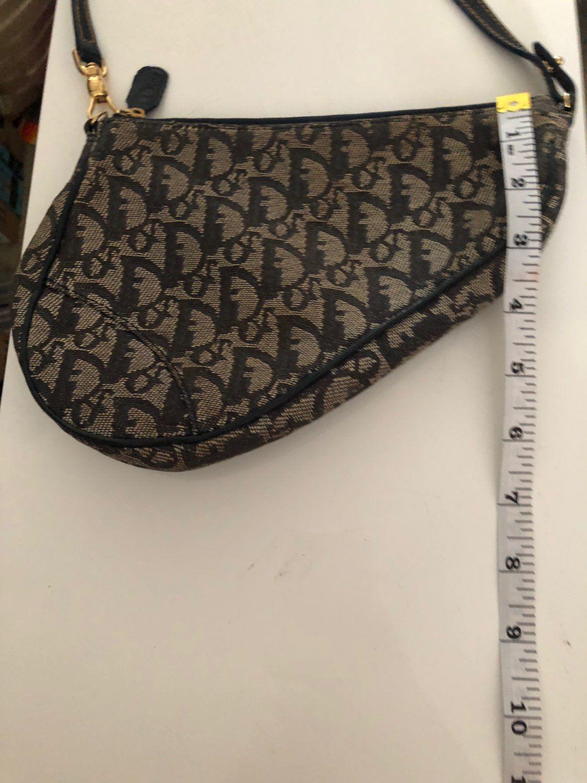 Vintage Dior Denim Saddle Bag Mercari Vintage Dior Dior Bags