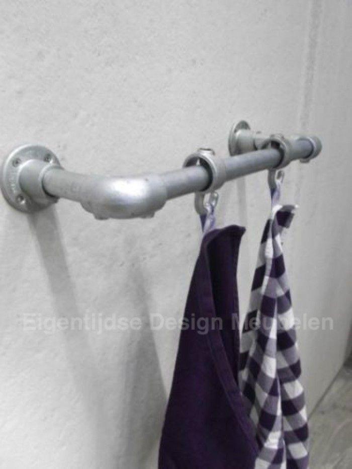 Steigerbuizen handdoekenrek geschikt voor zowel in de keuken als ...