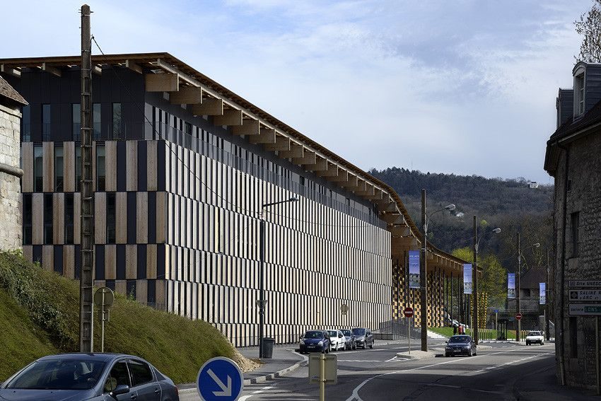 Galeria - Cite des Arts et de la Culture / Kengo Kuma & Associates - 6