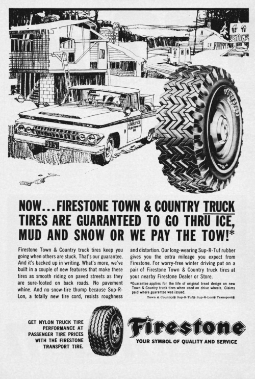 1966 Advertisement For Firestone Tires Vintage Advertising