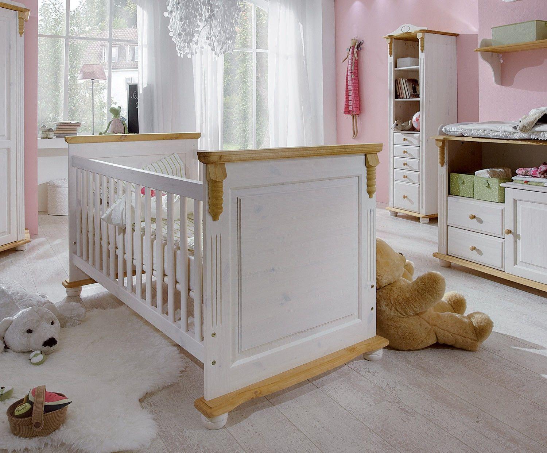 Romantik Kinderbett 107 | Babyzimmer dekor, Babyzimmer ...