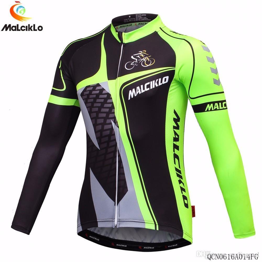 Malciklo 2017 Hombres De Invierno Térmica Fleece Ciclismo Jersey Set Ropa De Manga Larga Ropa Ciclismo Ropa De Ciclismo Camisetas De Ciclismo Ropa De Hombre