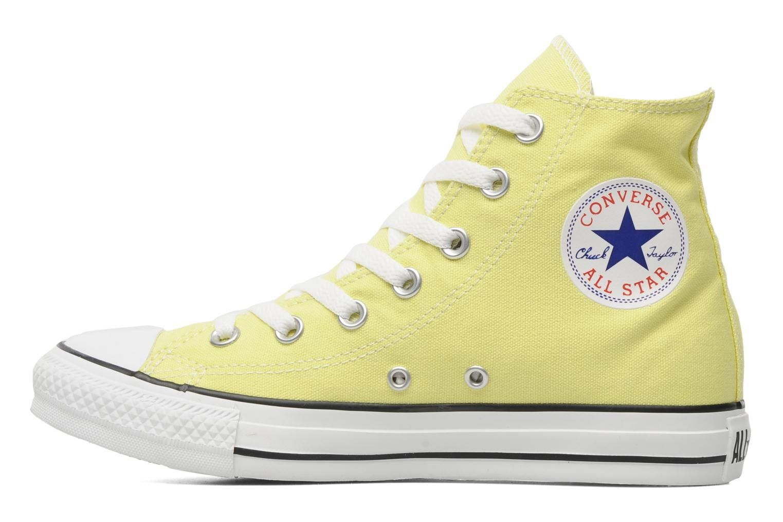converse jaune 39