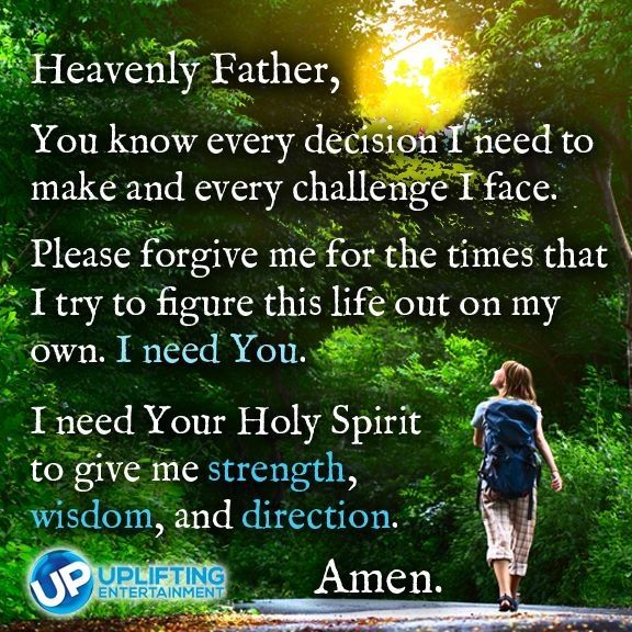 Awesome prayer...