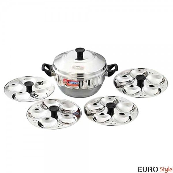 979f4bffe22 Eurostyle Idli Cookers  Buy Eurostyle Stainless Steel Idli Cooker and  steamer Compact-20 Online