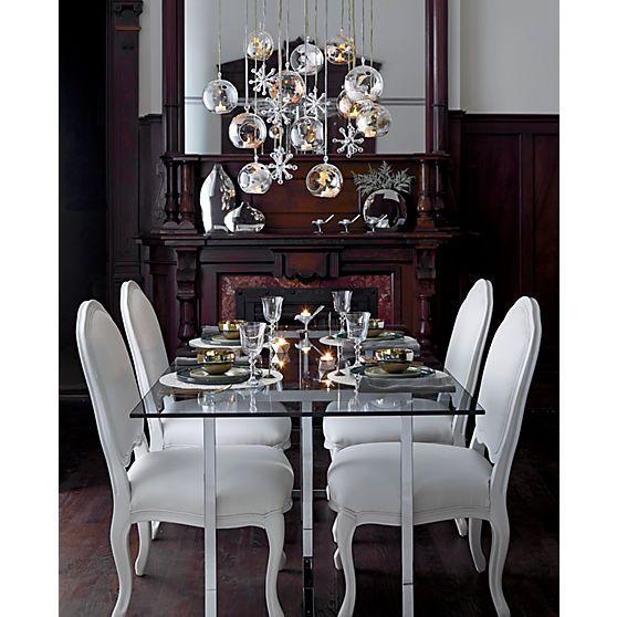 Silverado Chrome 72 Rectangular Dining Table Elegant Dining