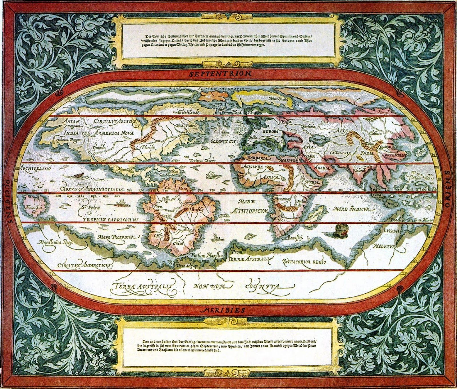 Ancient World Maps 16th Century