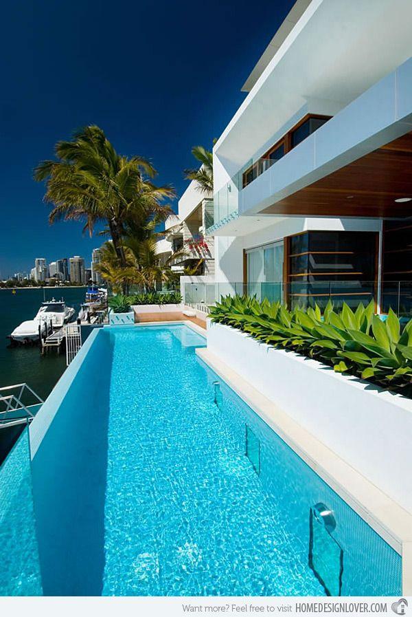 15 Fascinating Lap Pool Designs Home Design Lover Lap Pool