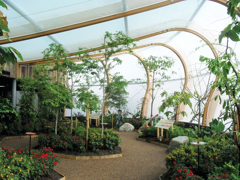 Whipsnade Zoo Butterfly and Crocodile Exhibit & Whipsnade Zoo Butterfly and Crocodile Exhibit | Architectural ...