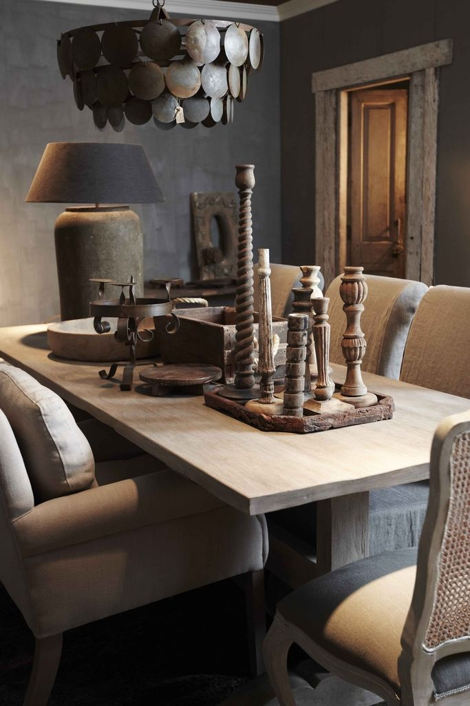 Landelijke accessoires van hout idee n voor het huis pinterest accessoires - Deco kleine zithoek ...