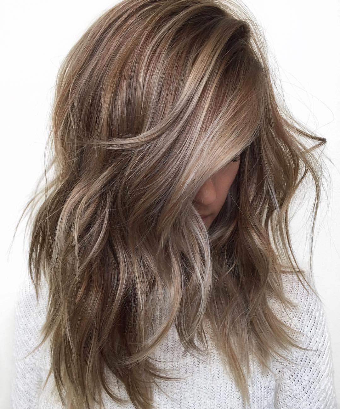 50 Best Hairstyles For Thin Hair In 2017 Hair Styles Dark Blonde Hair Color Long Hair Styles