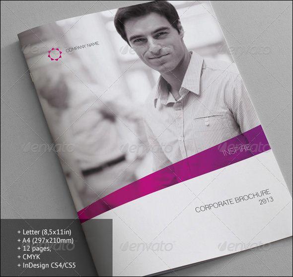 Free  Premium Corporate Brochure Design Templates  Corporate
