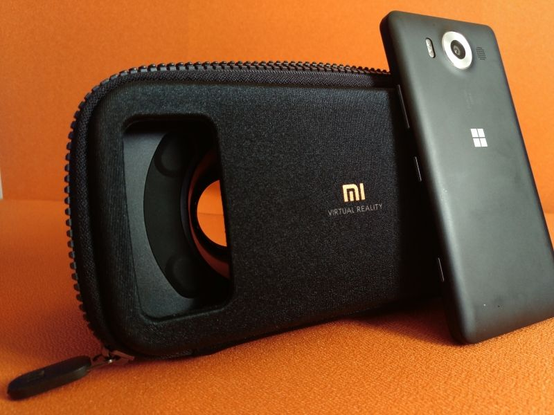 How To Use Xiaomi Vr Headset On Your Microsoft Lumia 950 Vr