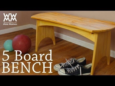 How To Build A Simple Five Board Bench