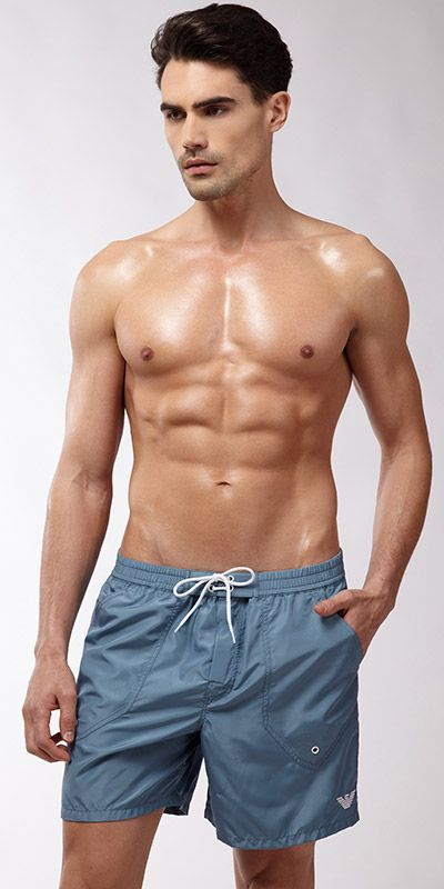 44f299cd384a8 Emporio Armani Maori Story Swim Short #MensSwimwear #MensFashion #swimwear  Summer Swimwear, Men