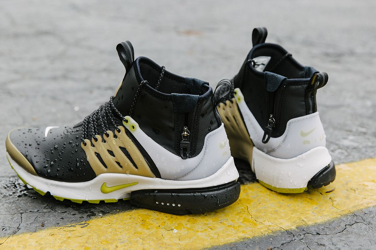 Nike Brutal Honey Inspired Air Presto Mid Utility  EU Kicks Sneaker  Magazine