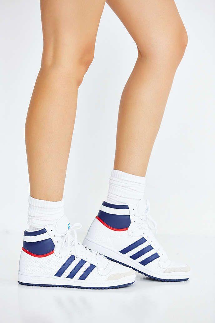 adidas originals top ten hi retro sneaker