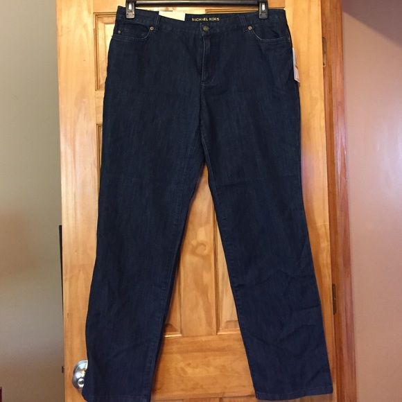"Michael Kors Greenwich Straight Leg Michael Kors Greenwich Straight Leg. Size 16W.  Inseam 31"". Never worn MICHAEL Michael Kors Jeans Straight Leg"