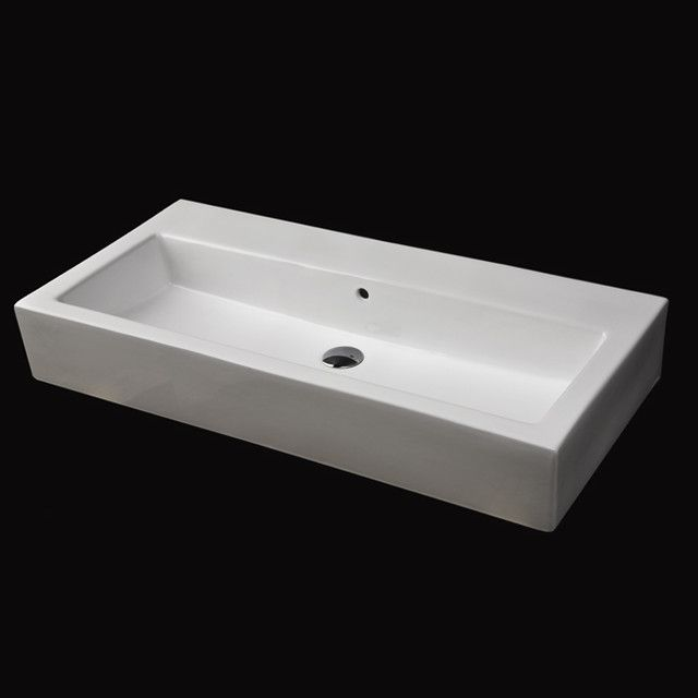 Marvelous Find This Pin And More On Bathroom 3 By Tiffanyfjones. Project Ideas Long  Bathroom Sink ...