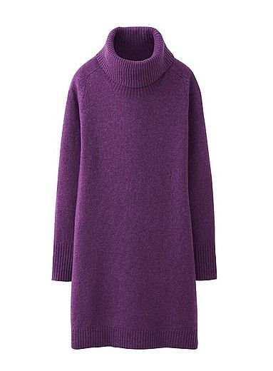 8 Amazing Turtleneck Sweater Dresses for Women This Season | Rib ...