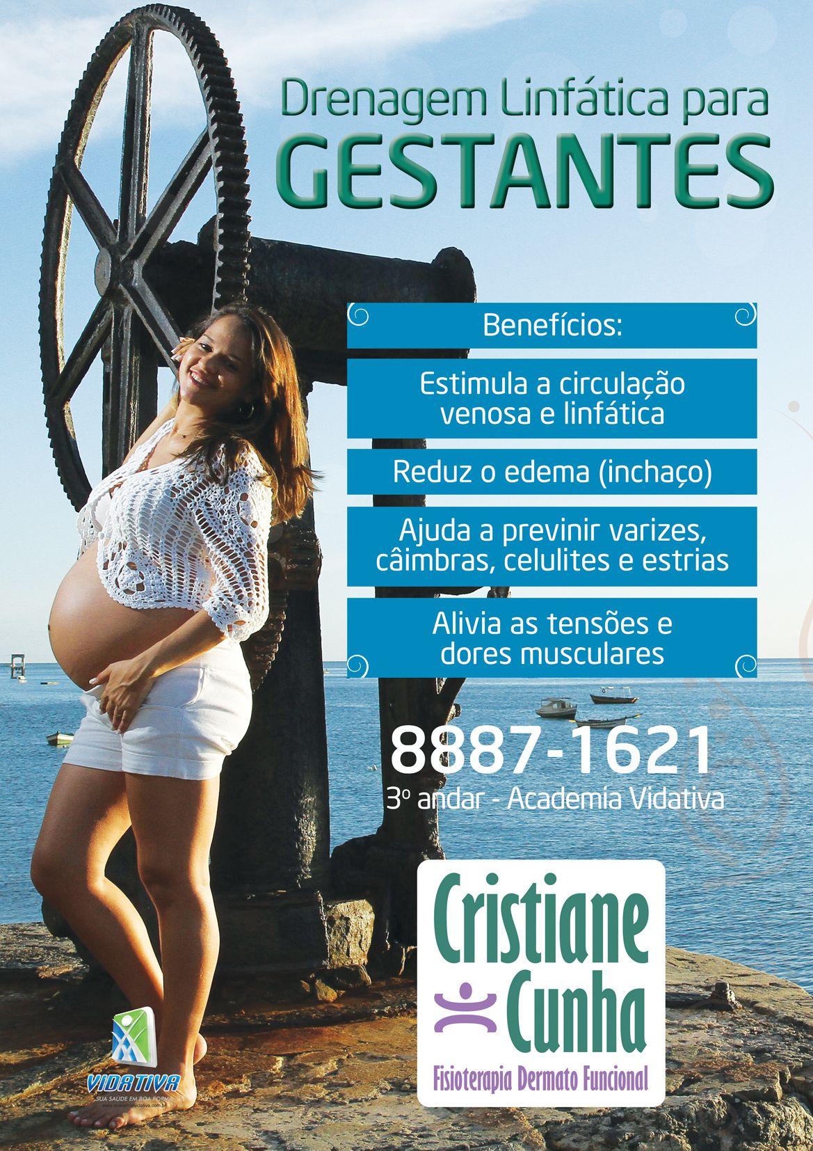 Divulgação da fisioterapeuta Cristiane Cunha!