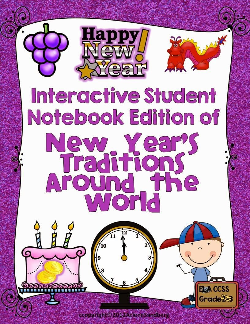 New Year's Traditions Around the World Resources, Free
