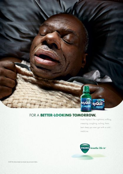 Can You Get Addicted To Nyquil Nyquil Ads Marketing Creative Print Advertising Campaign Repinned By Www Blickedeeler De Follow Us On Www Faceboo Nyquil Advertising Campaign Vicks