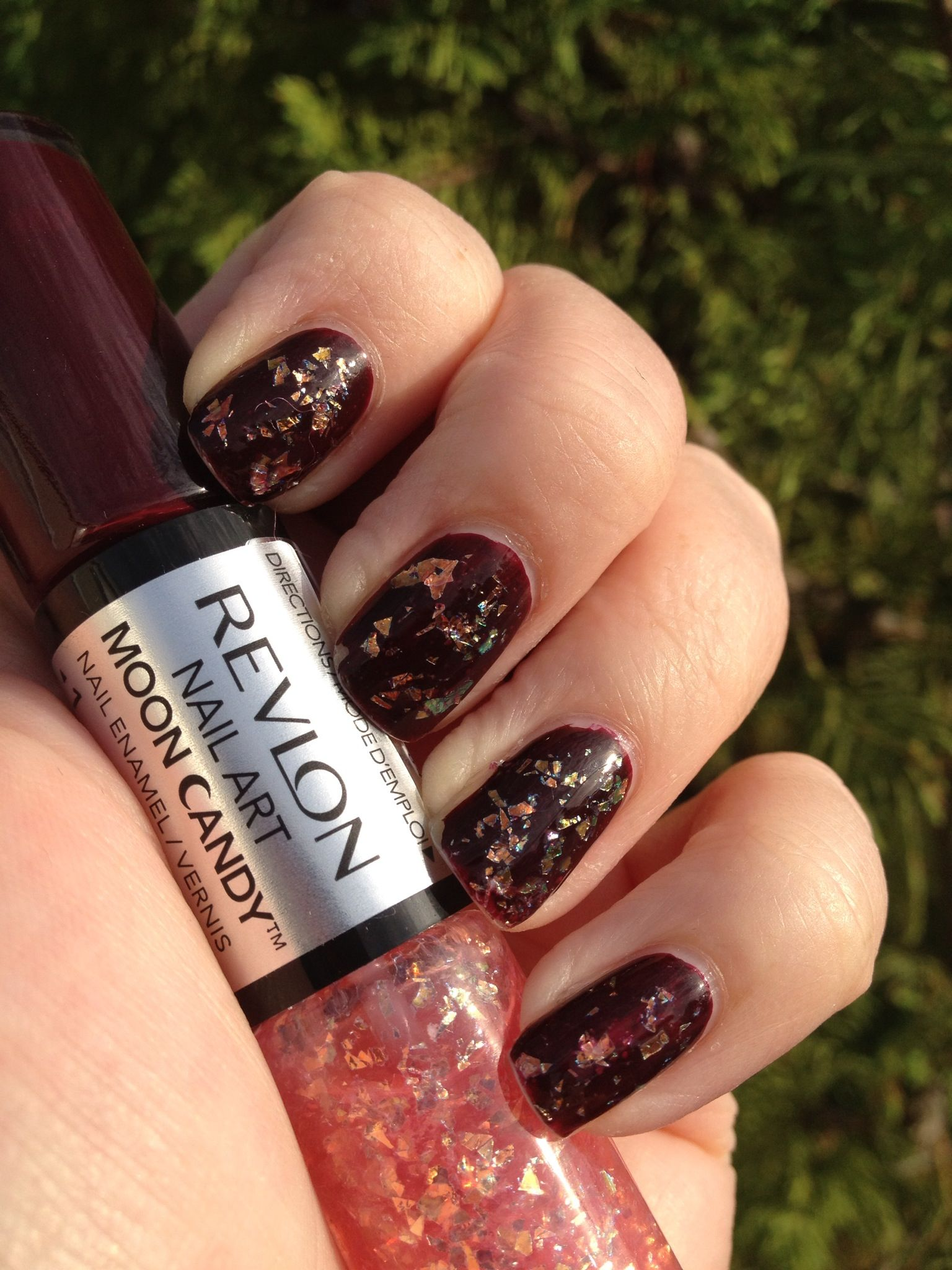 Revlon Moon Candy Satellite Fabulous Nails Top Coat And Swatch