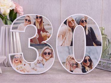 Dekorative Zahlen zum Aufstellen Dekorative Geburtstagszahlen
