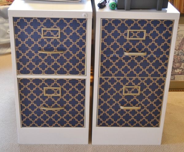 Looking to fix up plain old metal file cabinet for your ...