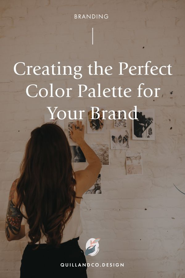 How to make the perfect Brand color mood board. Creating the perfect color schem...