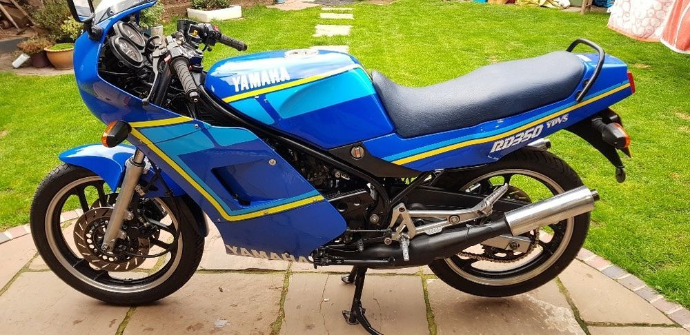 eBay: Yamaha RD 350 LC YPVS F2 1988 matching numbers Gauloises 1 key