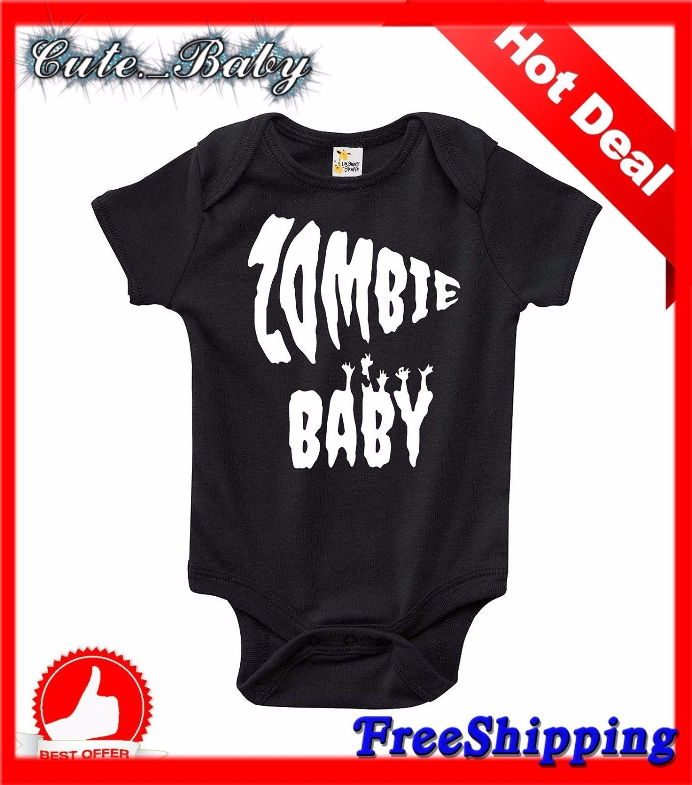 The Zombie Baby Bodysuit That Wins The Hearts of All Out with the