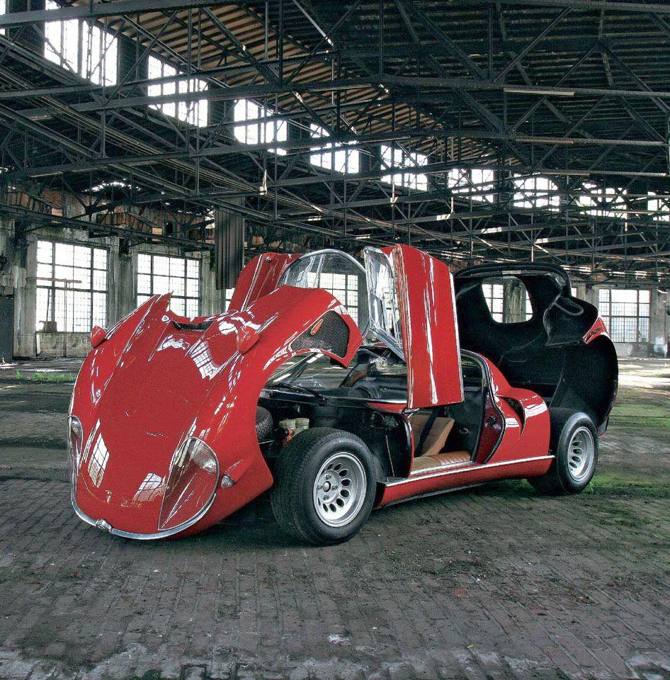 Alfa Romeo 33 Stradale Designer Franco Scaglione
