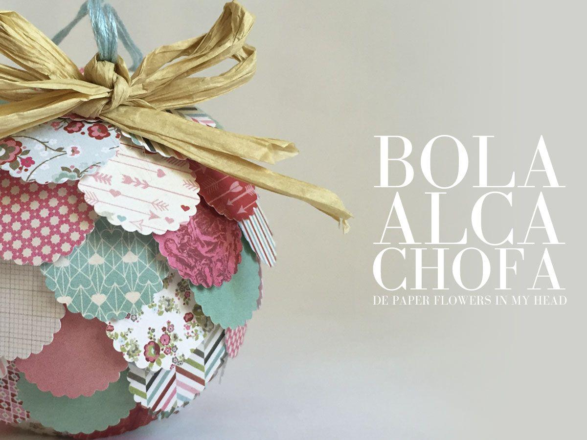 Ideas para decorar bolas de navidad con papel de - Ideas para decorar en navidad ...